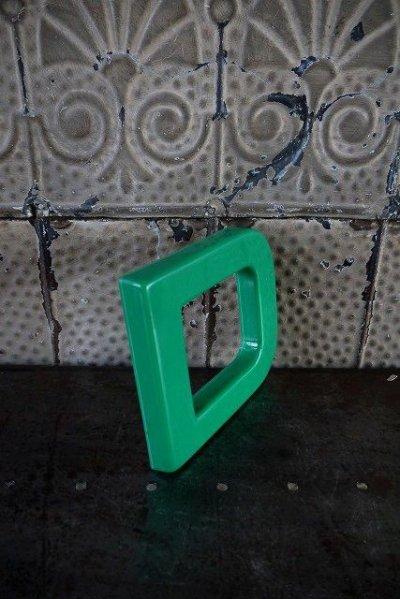 画像1: アンティーク アルファベット D ウォールデコ *