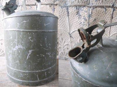 画像1: アンティーク スチール缶