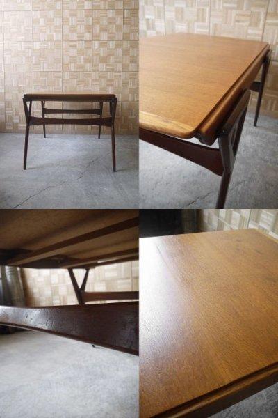 画像2: アンティーク louis paolozzi ウッドテーブル