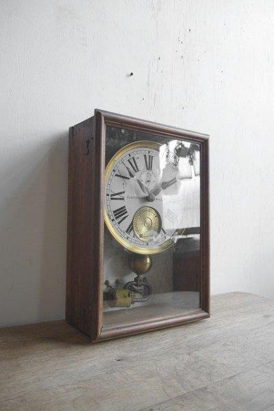 画像1: アンティーク ELECTRIQUE BRILLIE 壁掛け時計オブジェ (1)