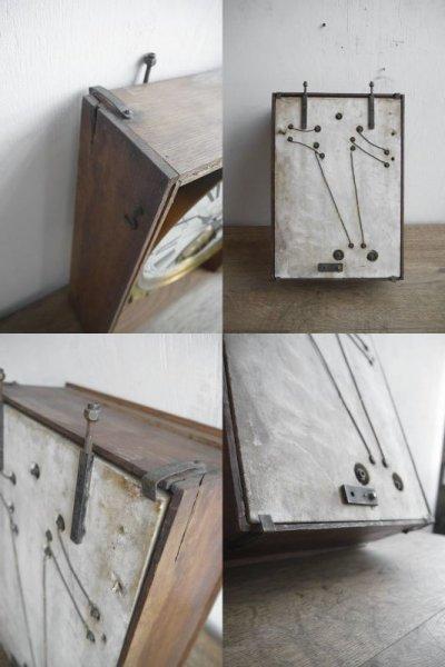 画像3: アンティーク ELECTRIQUE BRILLIE 壁掛け時計オブジェ