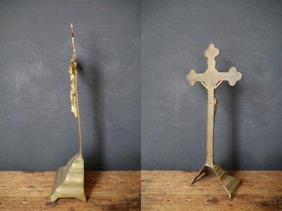 画像3: アンティーク INRI ブラス製 キリストオブジェ