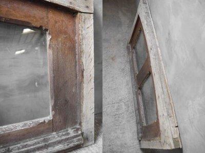 画像2: アンティーク ガラス窓枠 C