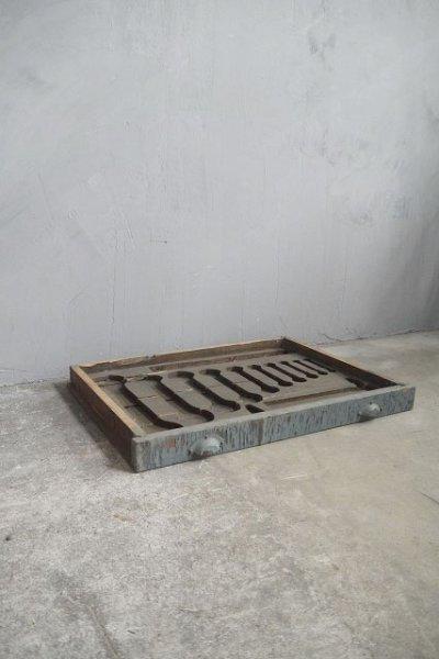 画像1: アンティーク ツール ウッドボックス B (1)