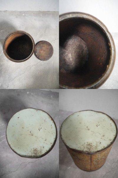 画像3: アンティーク AIGLOLINE メタル缶