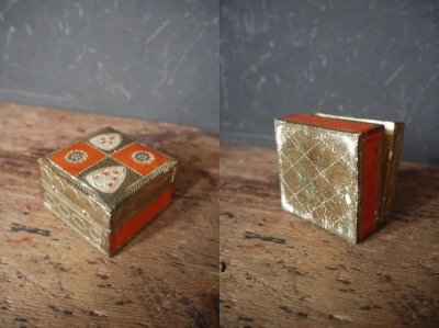 画像2: アンティーク ウッド装飾 ボックス A