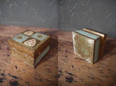 画像2: アンティーク ウッド装飾 ボックス B