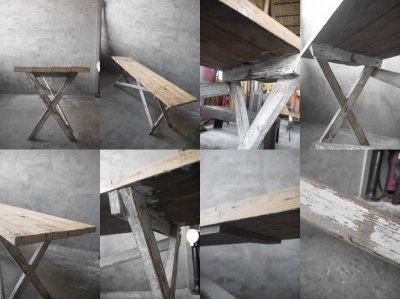 画像3: アンティーク 大型 ウッドテーブル