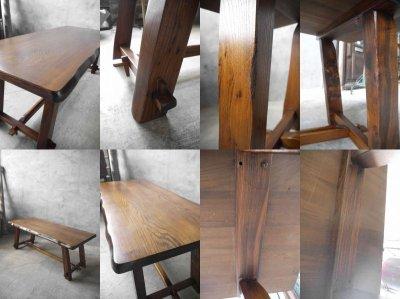 画像3: アンティーク Olavi Hanninen ウッドテーブル