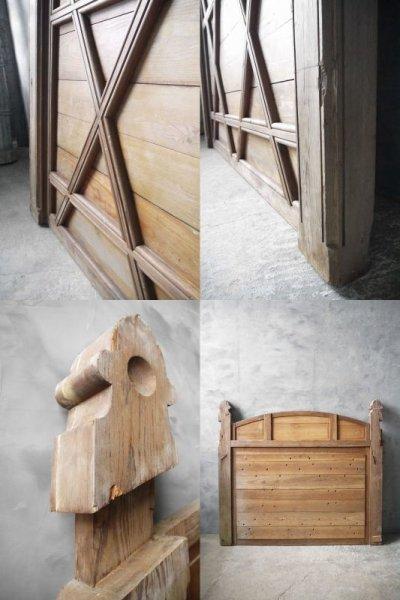 画像2: アンティーク ウッド 装飾デコレーション