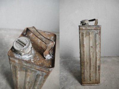 画像2: アンティーク インダストリアル メタル缶 A