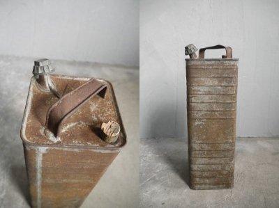 画像2: アンティーク インダストリアル メタル缶 B