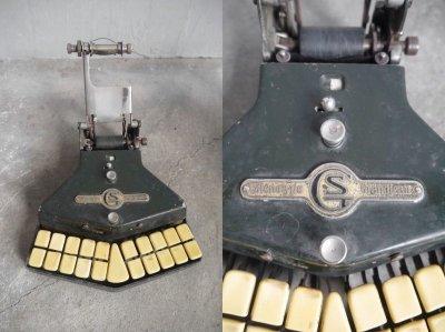 画像1: アンティーク Stenosype Grandjean  タイプライター
