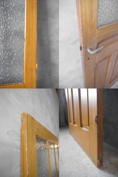 画像3: アンティーク フランス ガラス×ウッドドア A