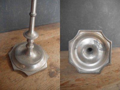 画像3: アンティーク メタル製 キャンドルホルダー